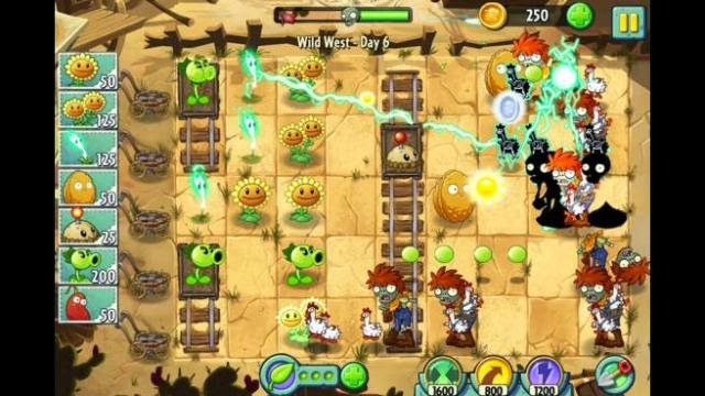 Plants vs Zombies 2 PC Games Gameplay