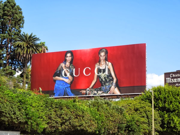 Gucci Spring 2014 billboard