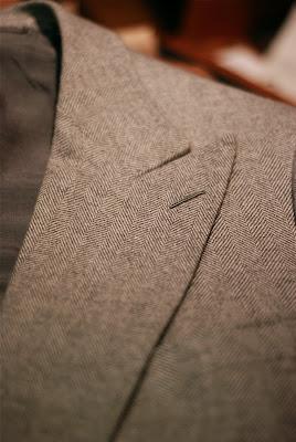 Cifonelli jacket in detail