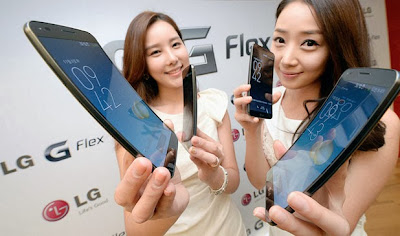 LG G Flex Curved Phone