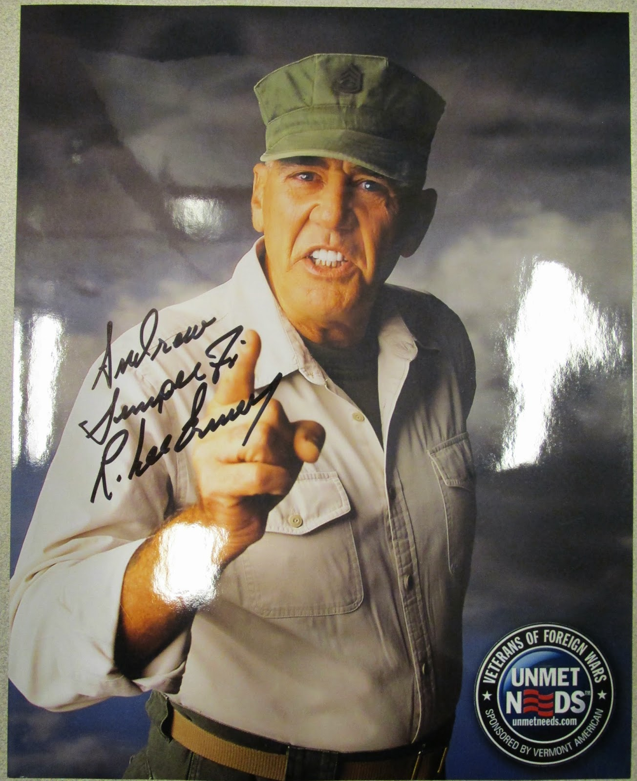 R Lee Ermey Movies Card Collectors Corner