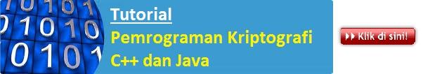 Tutorial Pemrograman Kriptografi C++ dan Java