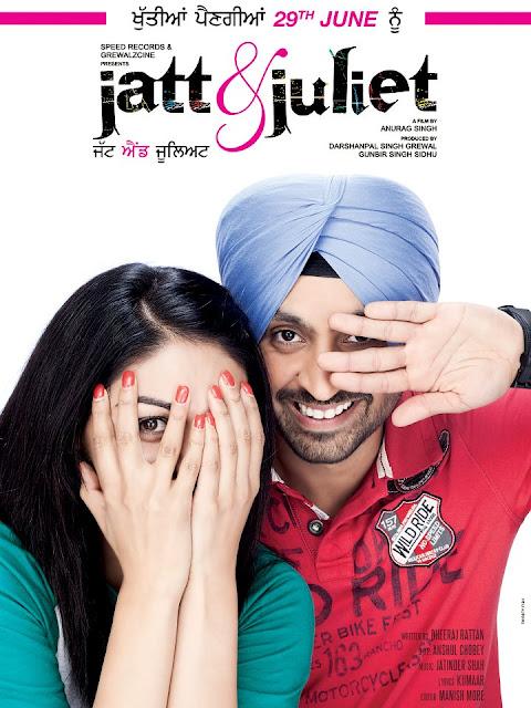 jatt and Juliet poster