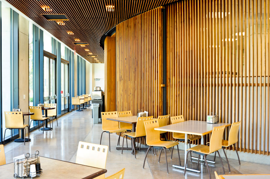 Club Med, Dining Servicesu0027 Newest Location, Is Now Open On The School Of  Medicine Campus At UC San Diego. Here Are Some Photos Of The Interior Of  The New ...