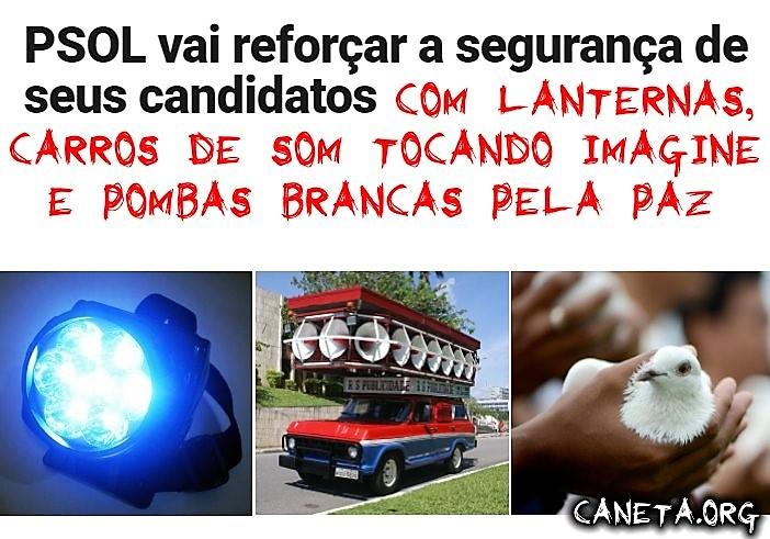 PSOL vai reforçar a segurança
