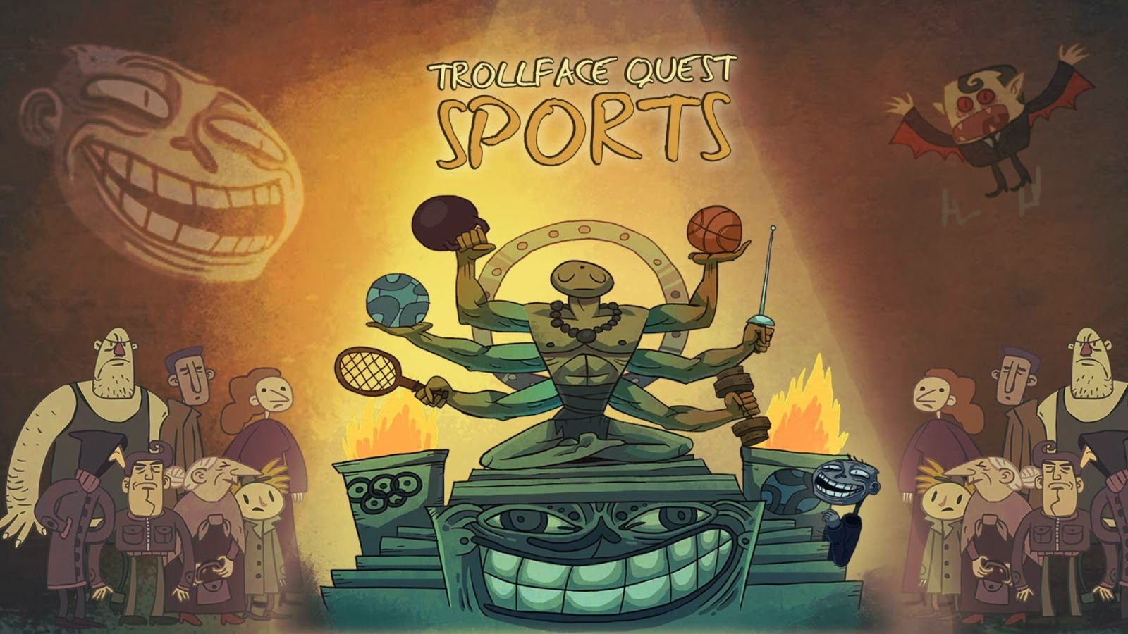Trollface Quest Sports Android app Walkthrough