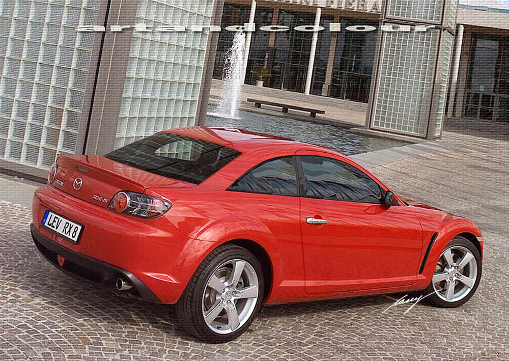 One Of My Least Viewed Chops Of All Time, Lol, The Mazda RX 8 Notchback.  Iu0027m Not Sure Why This Hasnu0027t Been More Popular, I Love It, But I Think It  Could Be ...