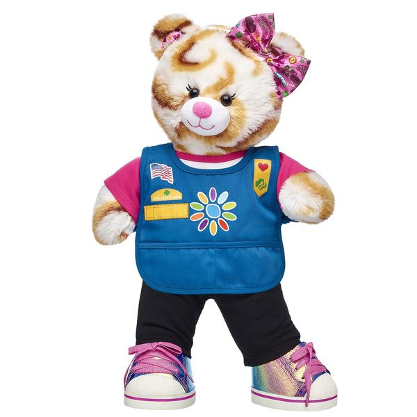 Build-A-Bear S'mores Campout Bear is Here for a Limited Time Only!
