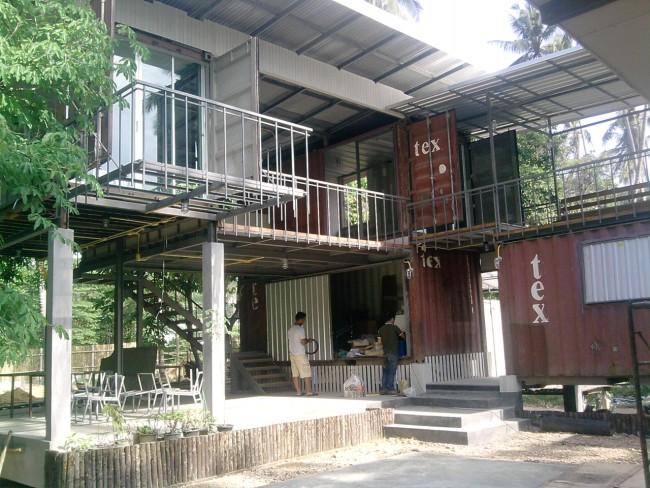 Casas ecologicas casa hecha con contenedores marinos en - Casa hecha de contenedores ...