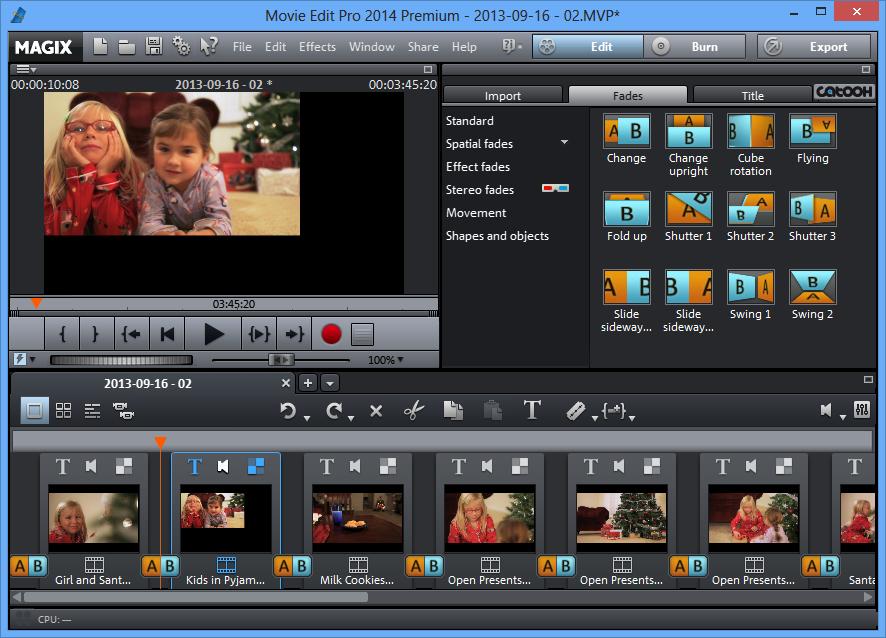تحميل برنامج ماجيكس لتحرير وإنشاء الفيديوهات MAGIX Movie Edit Pro 2014