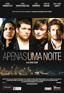 """Cartaz brasileiro do filme """"Apenas uma Noite"""""""
