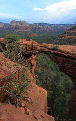 View of Devil's Bridge, Sedona