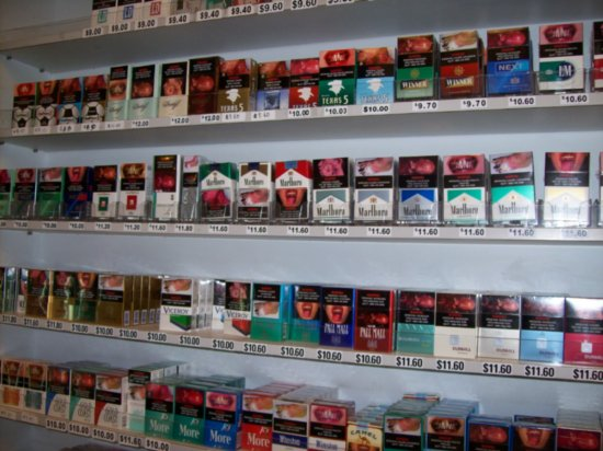 Swiss cigarettes Viceroy prices