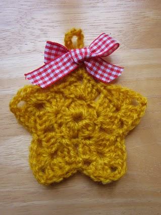 Adornos de navidad de crochet