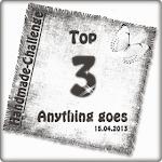 Unter den Top 3 bei handmade!;-)