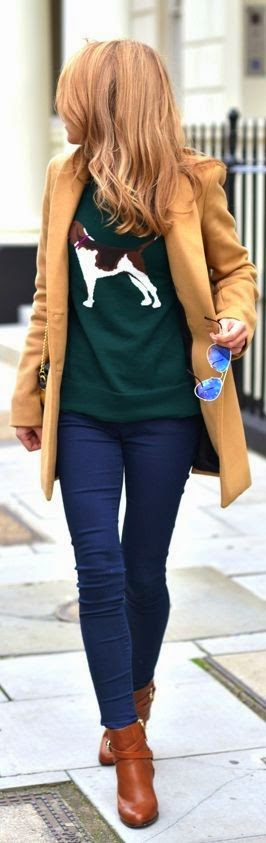 Top 5 street fashion for fall/winter