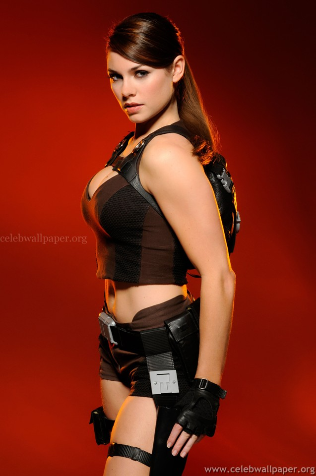 wallpaper Alison Carroll as Tomb Raider alison carroll wallpaper