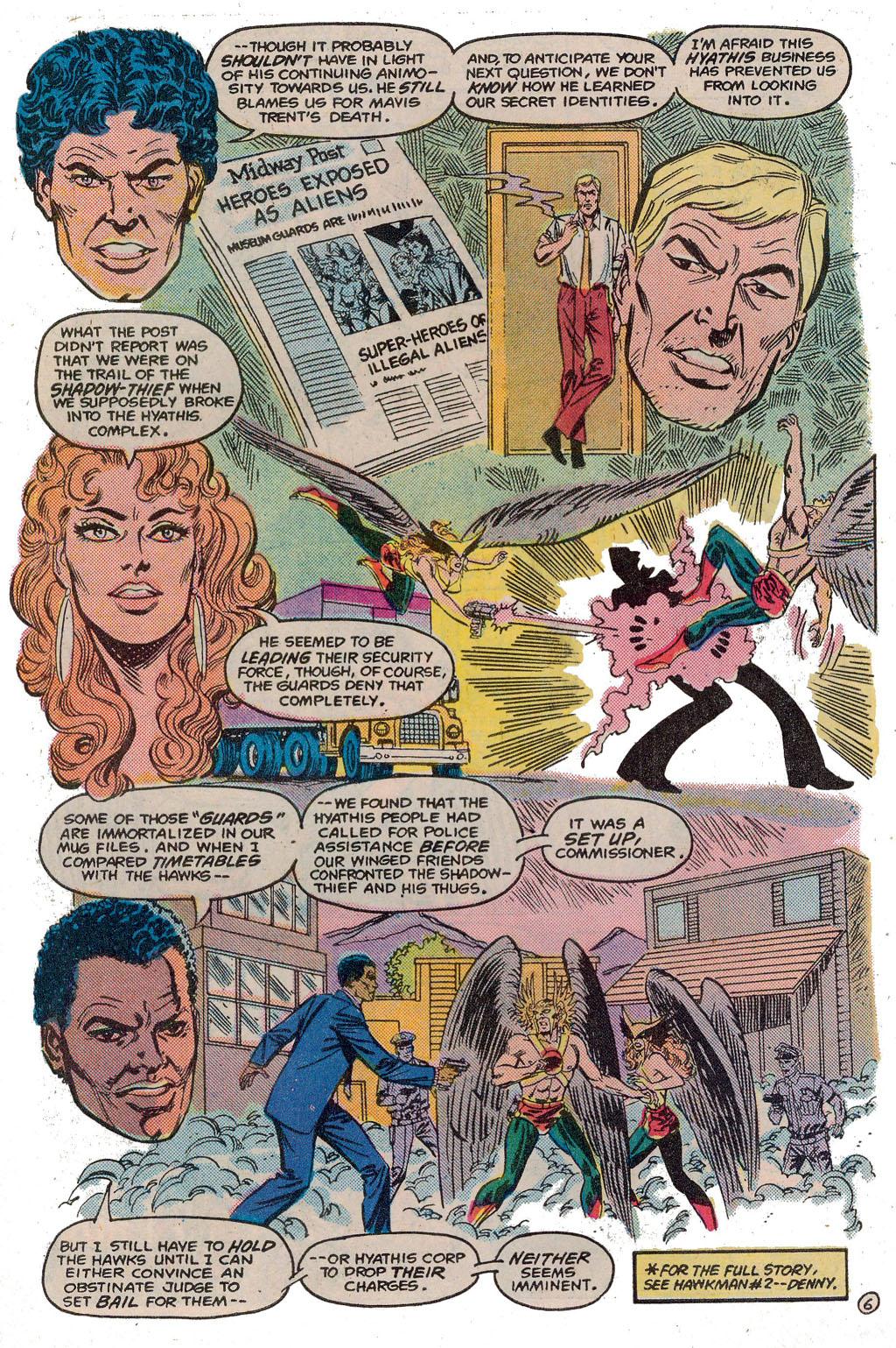 Hawkman (1986) Issue #3 #3 - English 9