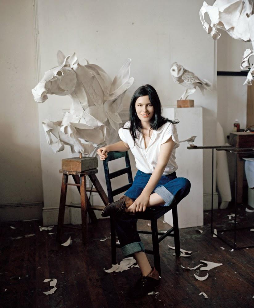 Esculturas, Papel, Anna Wili