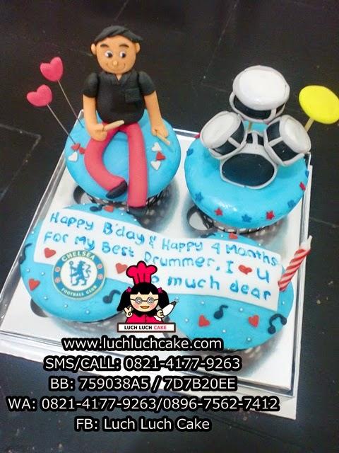 Cupcake Drum dan Chelsea Daerah Surabaya - Sidoarjo