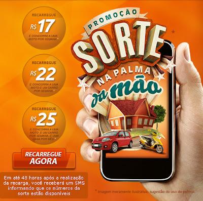 PROMOÇÃO SORTE NA PALMA DA MÃO OI- WWW.SORTENAPALMADAMAO.COM.BR