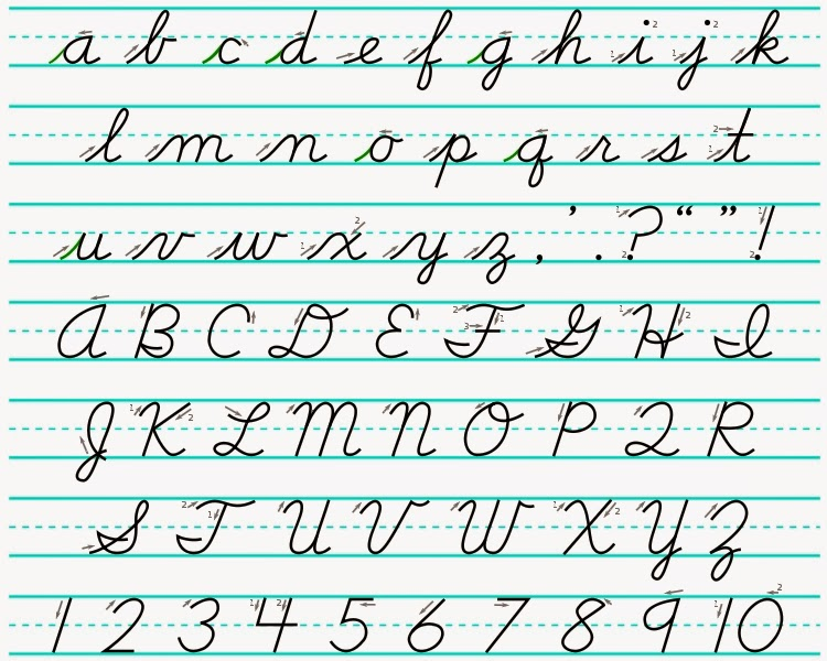 Cursive Handwriting Games