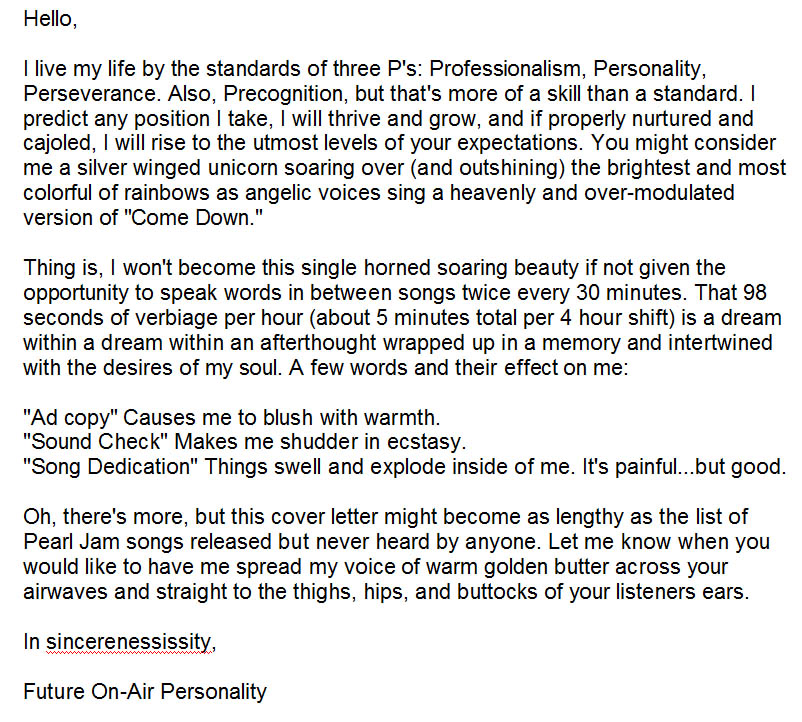 Captivating Kick Ass Cover Letter. Cover Letter Cover Letter Cover