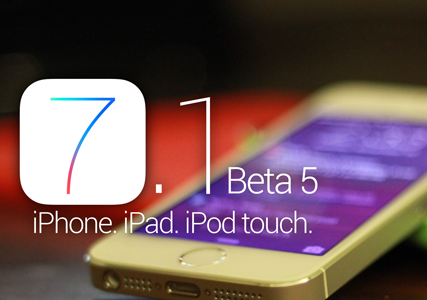 Download iOS 7.1 Beta 5 Firmwares