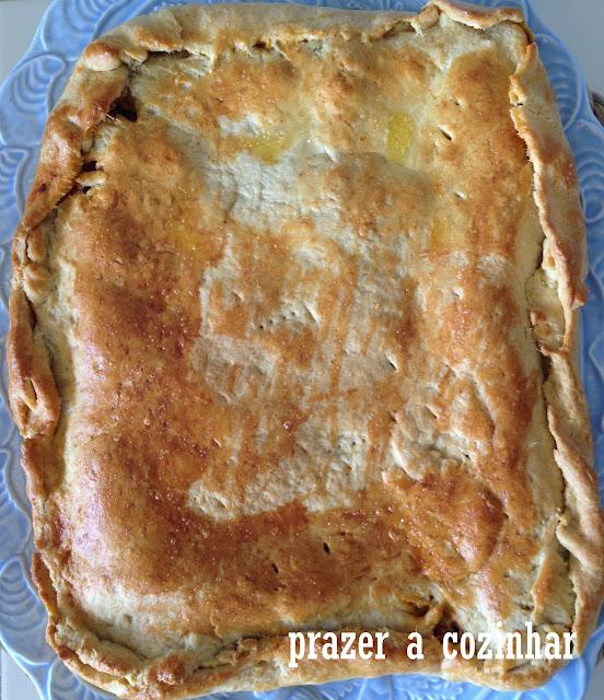 prazer a cozinhar - empanada de atum