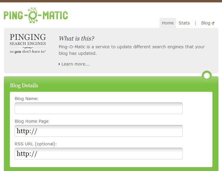 Pingo Matic Situs Ping Otomatis