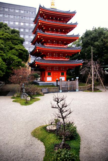 Tochoji, Fukuoka, Kyushu, Japan