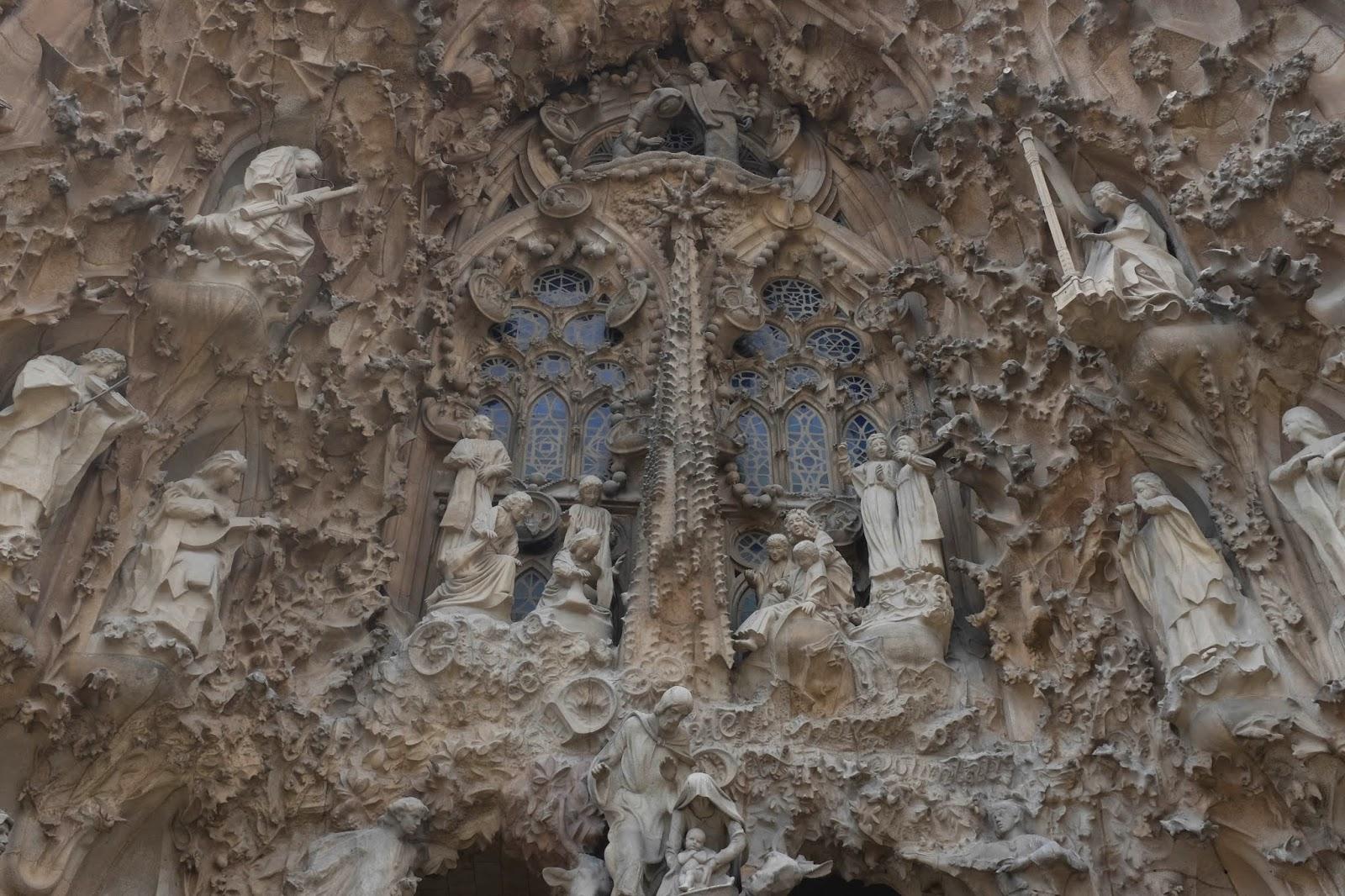 The Sagrada Família Gaudi