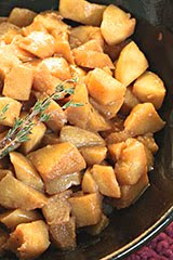 'Wise Son's' Rustic Caramelized Apple Sauce