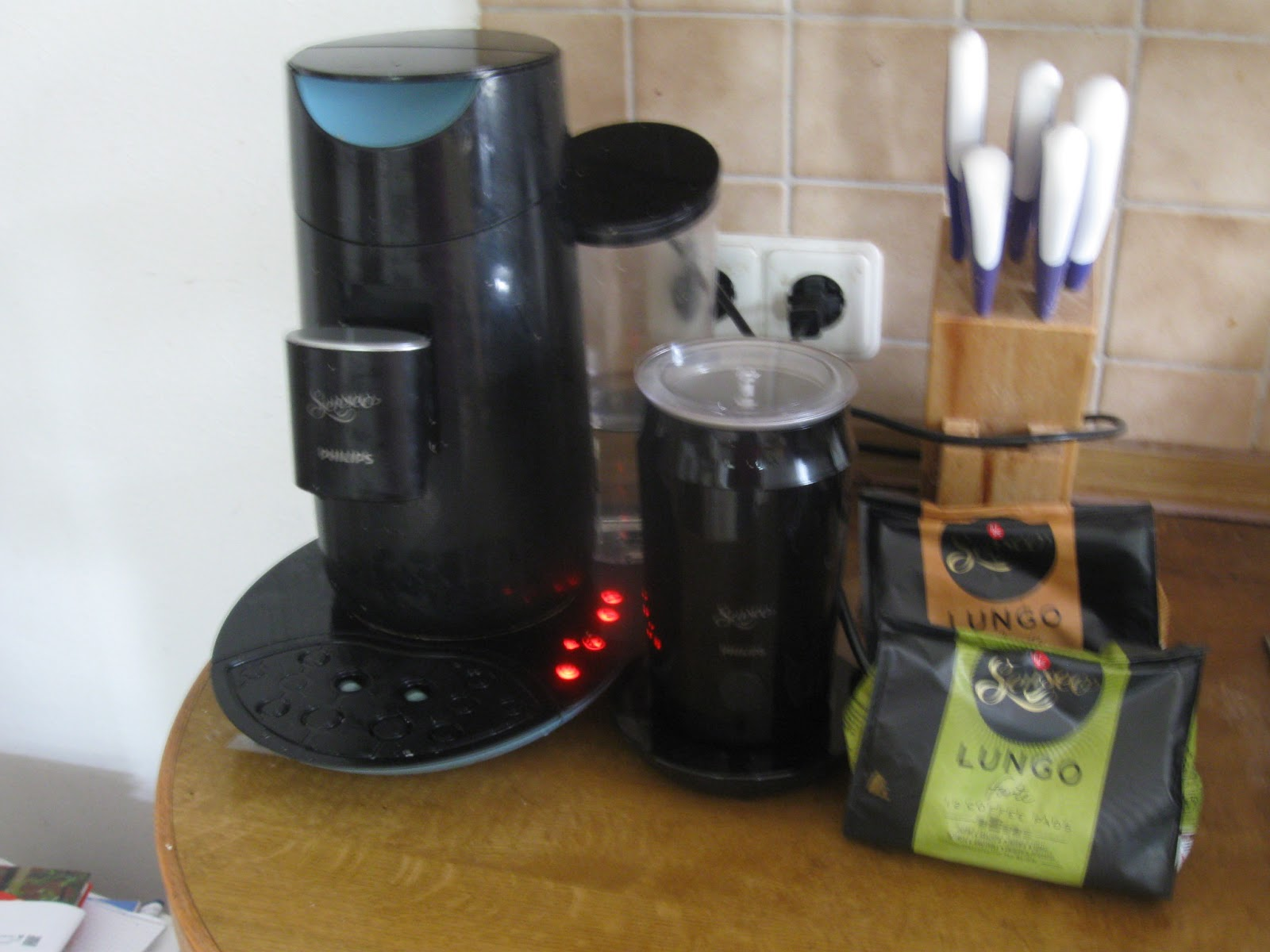 inges testblog senseo milk twister. Black Bedroom Furniture Sets. Home Design Ideas