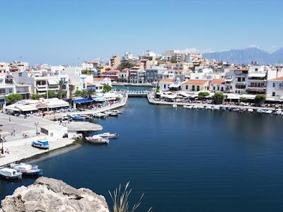 Lake Voulismeni Agios Nikolaos Crete