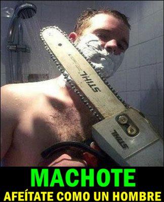 afeitar-machote