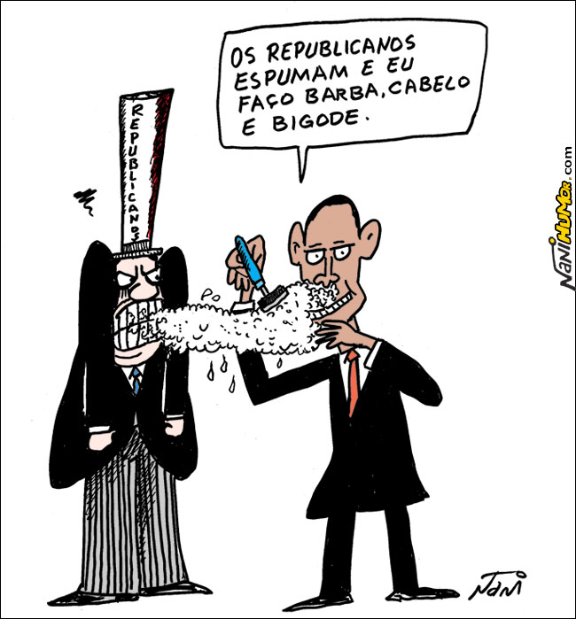 Obama vence da Saúde