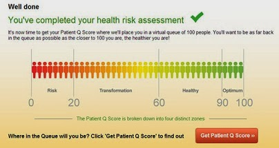myhealth tool health assessment