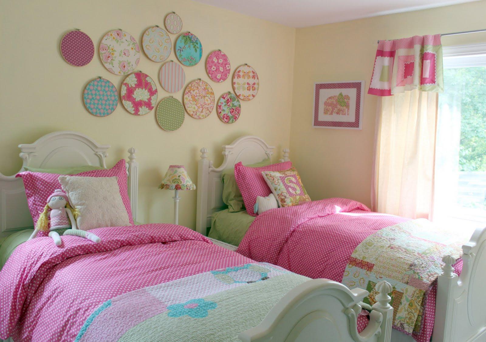 Bellart Atelier: Decoração - Quartos de Meninas, um quarto para duas ...