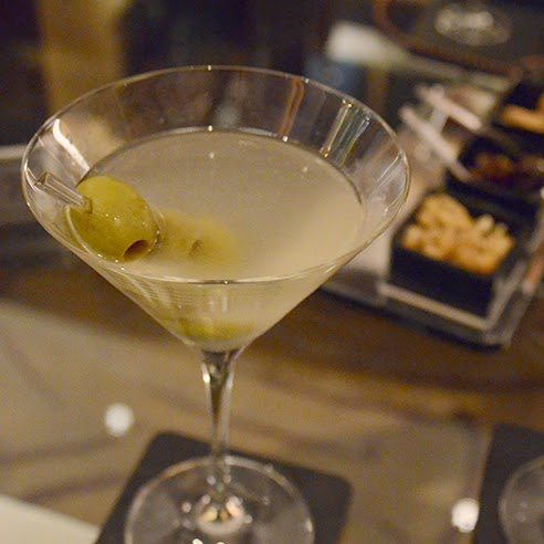 Dirty Martini with Olives London