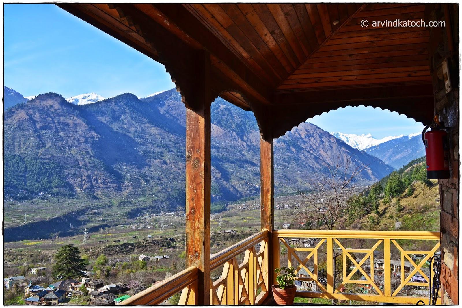 Naggar, Castle, Manali, Hills, Himachal, Kullu