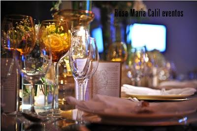 menu, copos cristal, copos âmbar, decoração