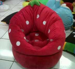 PUSAT GROSIR SOFA STRAWBERRY KIDS