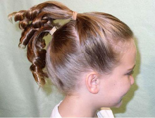 peinados para nina pelo corto with peinados de nia para comunion
