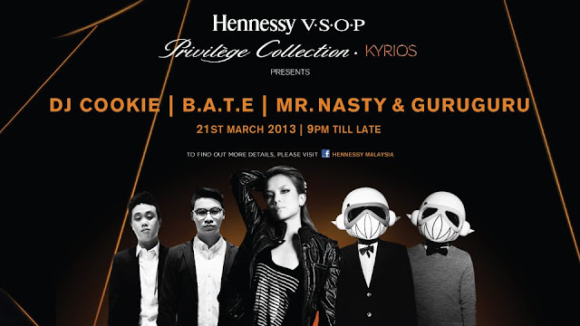 Hennessy V.S.O.P KYRIOS Nationwide Parties