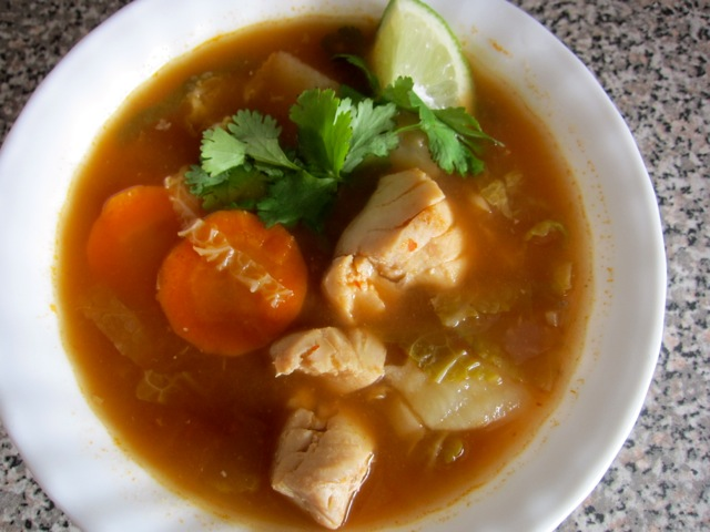 come home for supper mexican fish soup