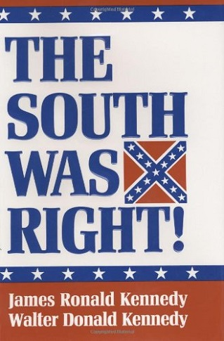 The South Was Right  cover