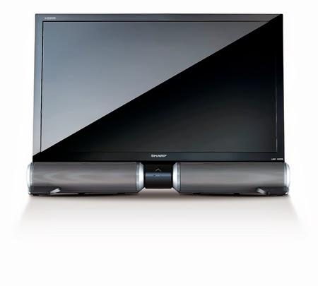 tv sharp led 32 no speaker box