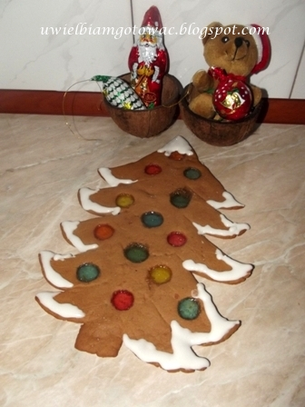 Choinka z piernika (Gingerbread Christmas Tree)