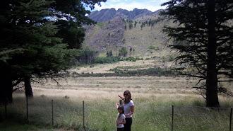 Sierra de la Ventana. Argentina.No me pude asomar estaba altísima.